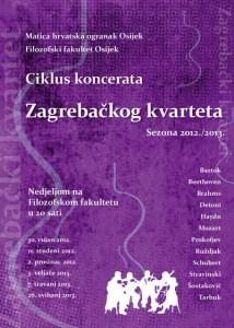 Zagrebački kvartet plakat
