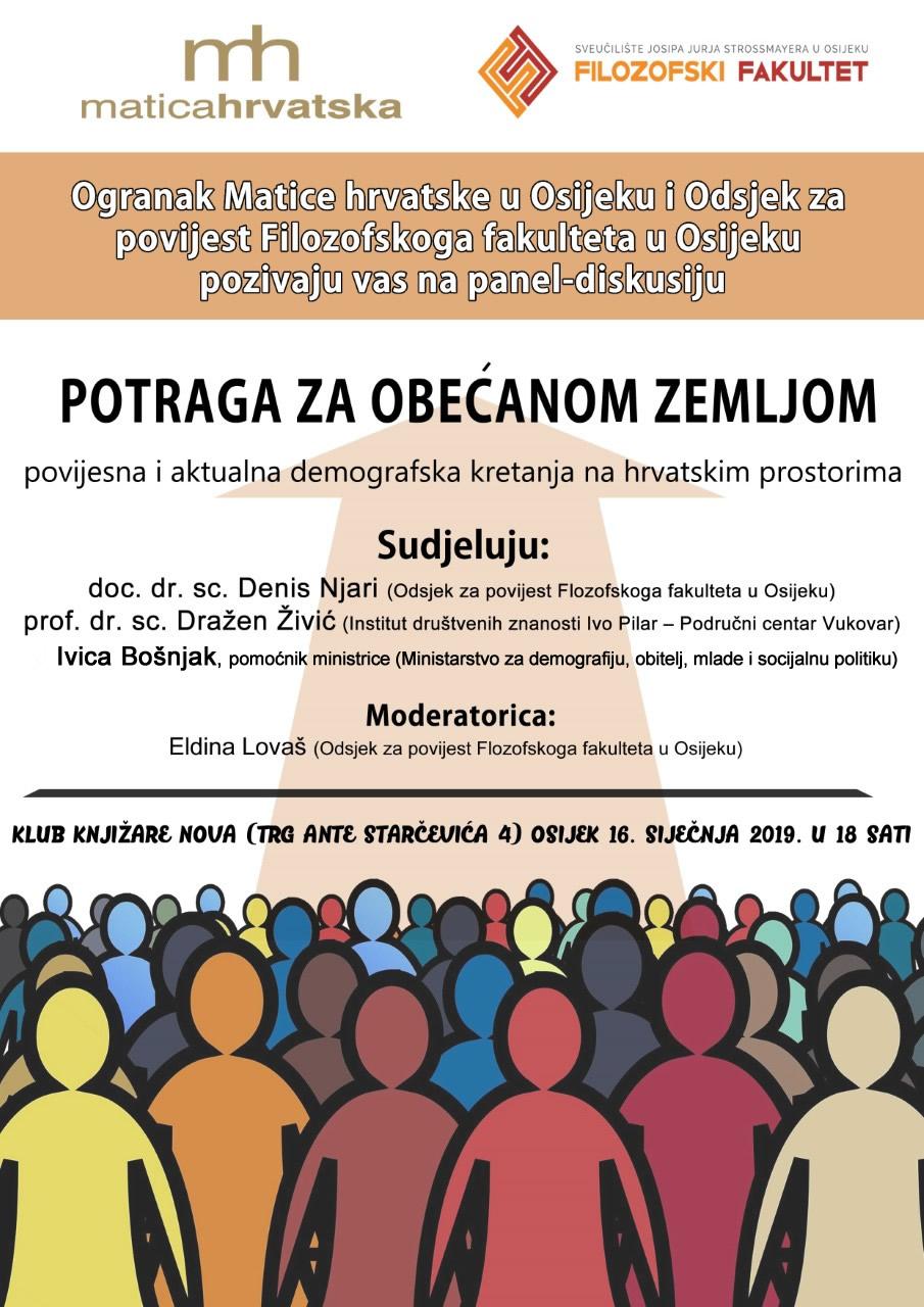 Panel-diskusija o demografiji